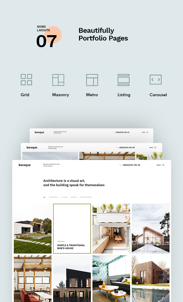 Baroque - Architecture & Interior WordPress Theme - 10