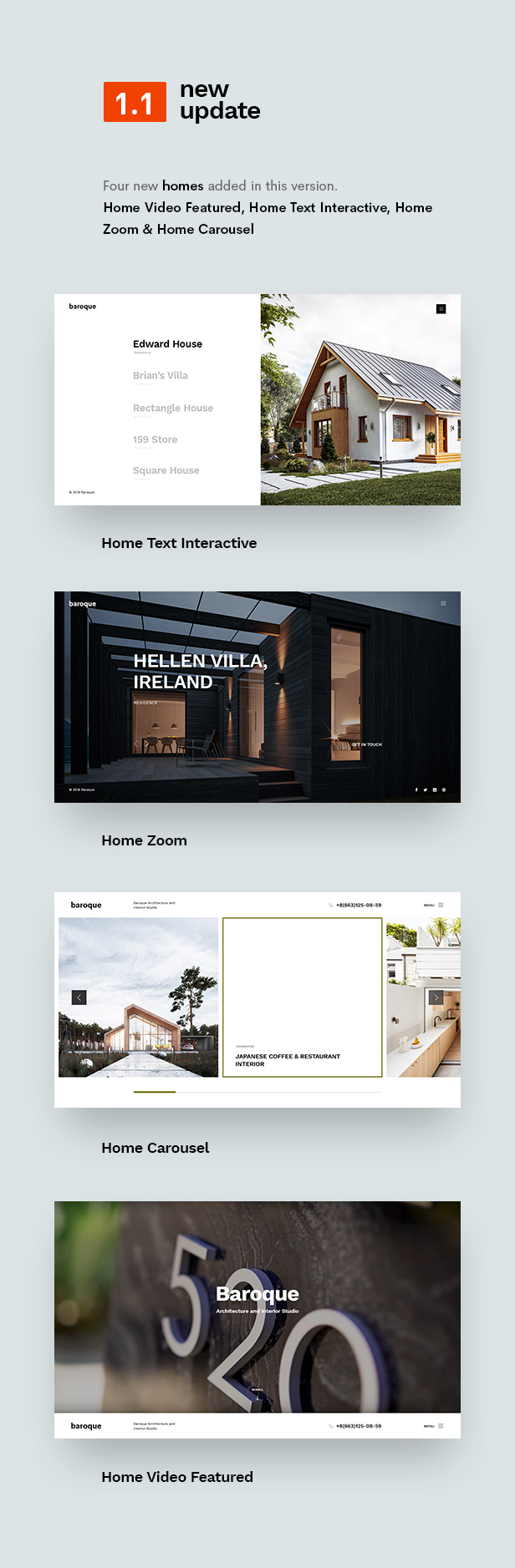 Baroque - Architecture & Interior WordPress Theme - 4