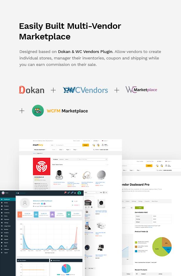 Martfury - WooCommerce Marketplace WordPress Theme - 14