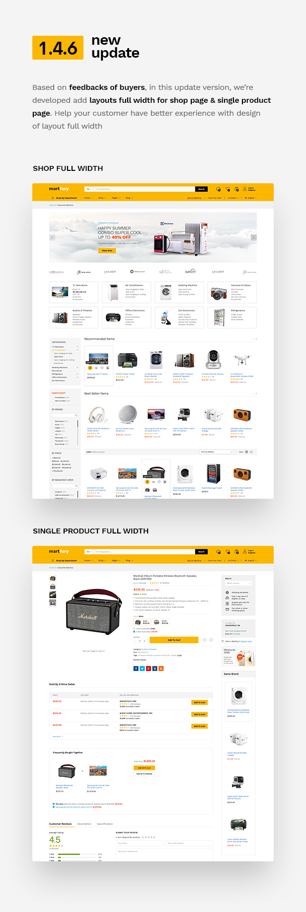 Martfury - WooCommerce Marketplace WordPress Theme - 11