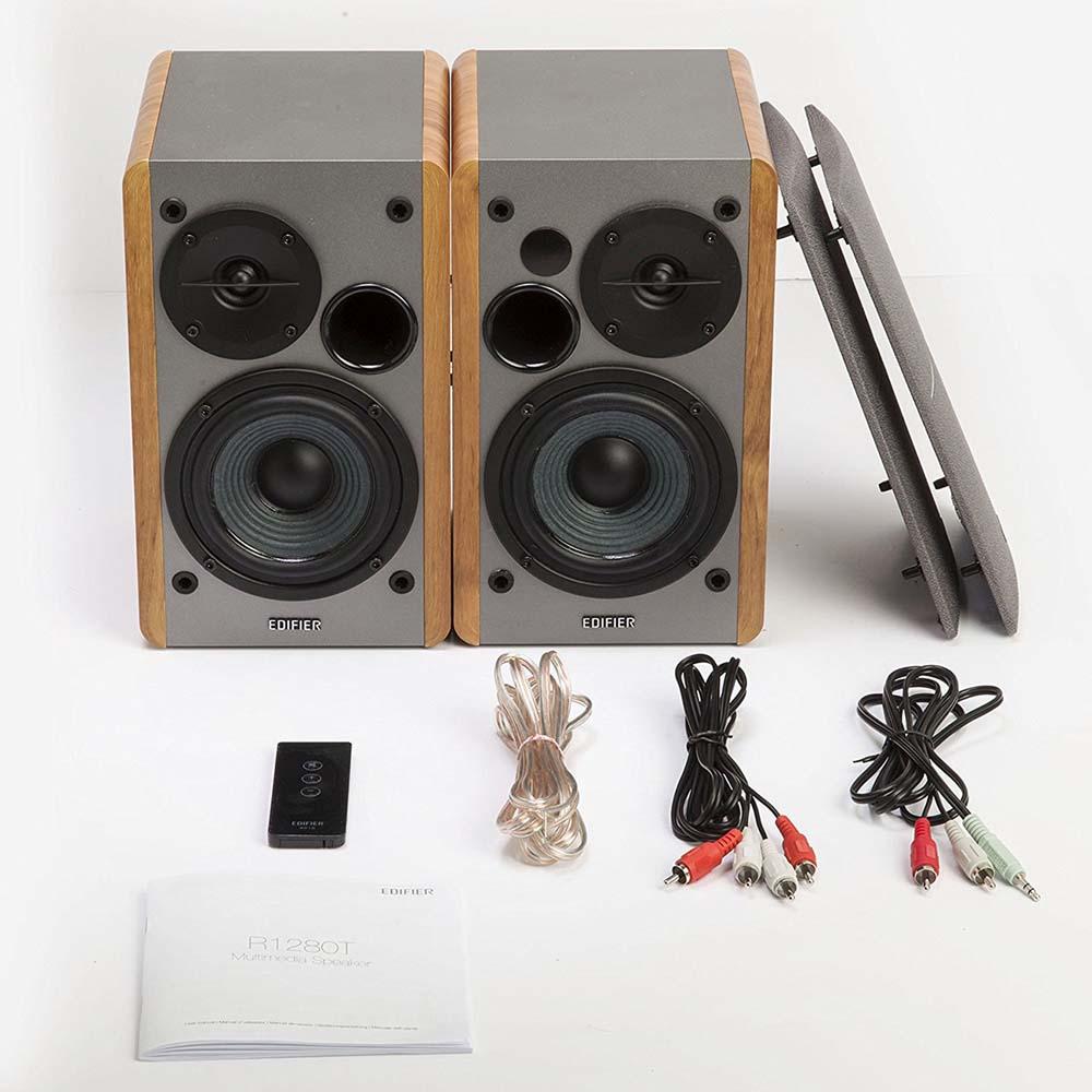 edifier r1280t powered bookshelf speakers martfury multi vendor marketplace ecommerce. Black Bedroom Furniture Sets. Home Design Ideas